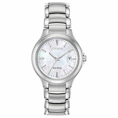 Citizen EW2520-56Y Women's Chandler Pink Mother of Pearl Eco-Drive Watch