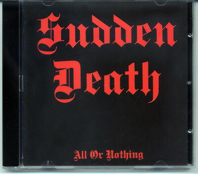 """Sudden Death """"All Or Nothing"""" 1987, CD"""