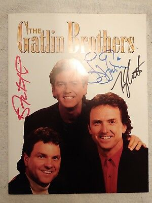 The Gaitlin Brothers Book from the Gaitlin Brothers Theatre (Autographed)