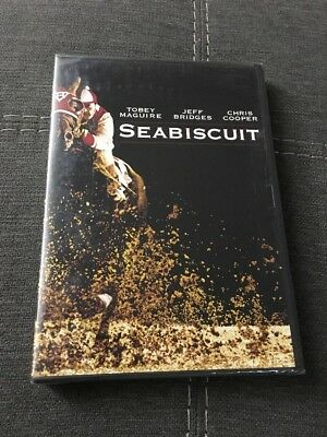 Seabiscuit 2003 (DVD,Full Screen Edition) NEW Authentic US Release Fast Shipping