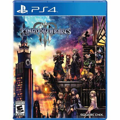 Kingdom Hearts III 3 Standard Edition PlayStation 4 PS4 Brand New Factory Sealed