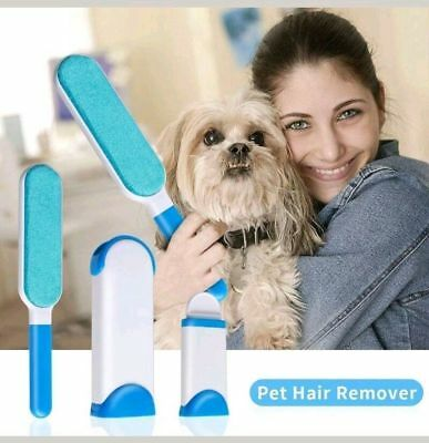 Pet Fur & Lint Remover with Self-Cleaning Base - Removes Dog & Cat Hair      A35