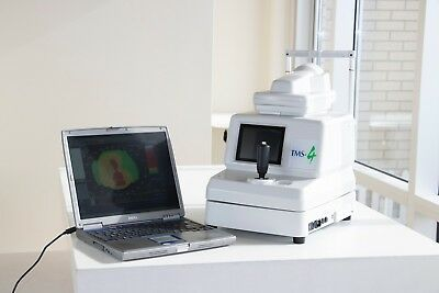 Tomey TMS-4 Corneal Topographer (Topographic Management System) w/ Software