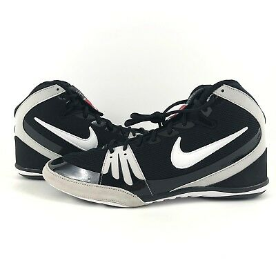 0be44d2a9ba New Nike Freek Wrestling Shoes Hypersweep Black White 316403-011 Mens Size  13.5