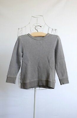 """Size 4 """"Indie"""" Boys Long Sleeve Brown Jumper. Great Condition. Bargain Price"""
