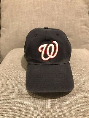 44fe3ef7c5b Washington Nationals  47 Forty-Seven Brand Fitted Baseball Hat size Small  ...