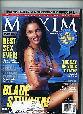 Maxim Magazine - April 2002 - Monster 5th Anniversary Special