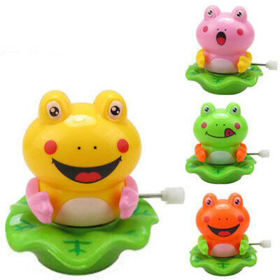 Cute Frog Shape Baby Clockwork Toy Classic Wind Up Dancing Toy Random Color