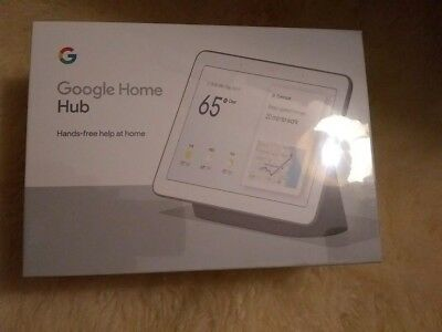 "Google Home Hub  - with Google Assistant Smart 7"" Display / New in Sealed Box"