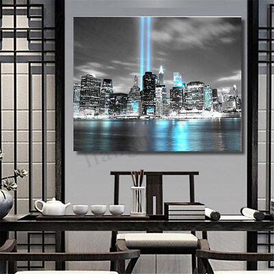 NEW YORK CITY Manhattan Skyline Canvas Print Pictures Wall Art Painting