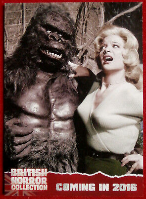 BRITISH HORROR COLLECTION - PAUL STOCKMAN, Konga! - PREVIEW Card PR11