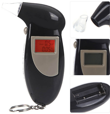 Portable Breath Alcohol Tester Detects Breathalyzer Alcohol Concentration Detect