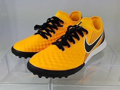 NIKE MAGISTAX FINALE II TF 844446 107 Turf Football Soccer Boots White Volt