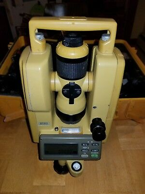 TOPCON DT-104 Waterproof Digital Theodolite Transit Level (Free Shipping)