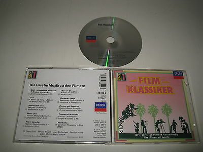 Various Artists/Classical Music to the Films (Decca / 436 829-2) CD Album