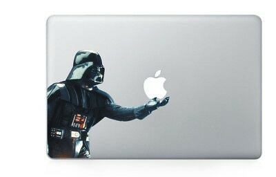 "New Vinyl Sticker Mac Book/Air/Retina Laptop Decal 11 13 15 17"" Darth Vaider"