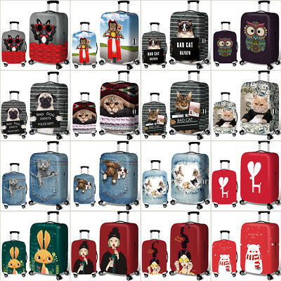 18-32Inch Travel Elastic Luggage Cover Suitcase Trolley Dustproof Case Protector