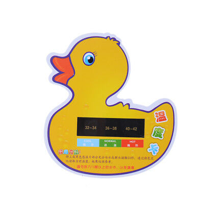 LCDWater Temperature Meter Baby Take Shower Thermometer Bath Thermometer EO