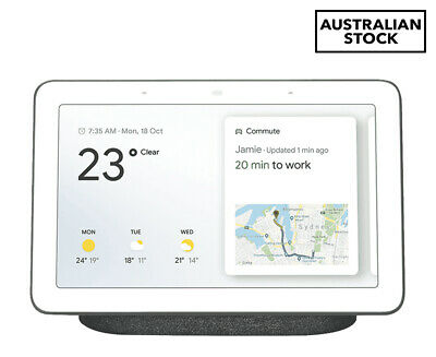 Google Home Hub Smart Home Controller (AU Version) - Charcoal