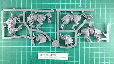 Warhammer Age of Sigmar Slaves to Darkness Chaos Chariot Horses x 2 W18