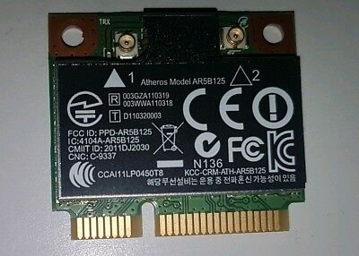 Atheros AR5B125 PCI-E Wifi 300Mbps Card for Laptop