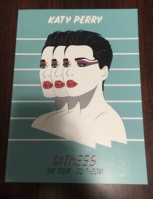 BRAND NEW Katy Perry - Witness: The Tour PROGRAM BOOK (42 Pages)