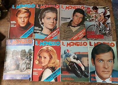 Lotto Il Monello 1974 Dal N.18 Al N.23 + N.26 + Inserto Gimondi