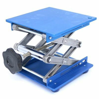 6inch Aluminum Lab-Lift Lifting Platforms Stand Rack Scissor Lab Jack 150x1 Z3B1