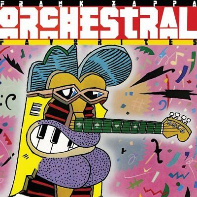 Orchestral Favorites [audioCD] Frank Zappa