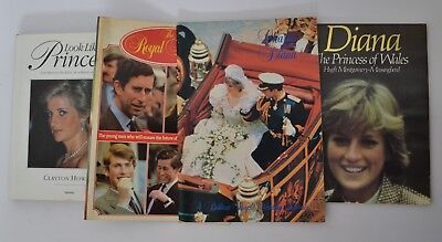 Diana Princess of Wales Bulk Lot of Books Queen Royal Wedding Look Like a