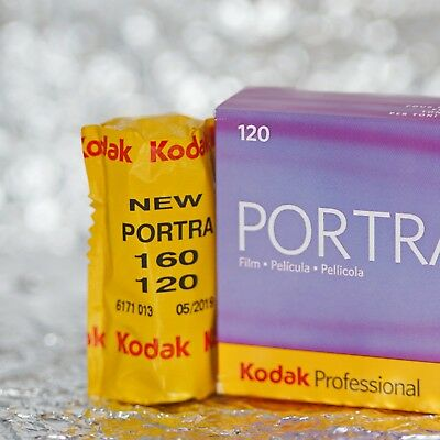 *NEW* Kodak Portra 160 120 film