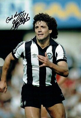 Kevin KEEGAN SIGNED 12x8 Autograph Photo COA AFTAL Newcastle United Football