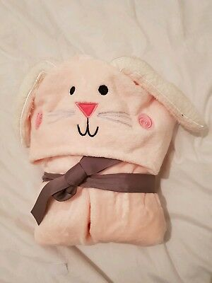 Kids hooded bath towel. RABBIT. SMALL AGE 3-5YRS. M&S PURE COTTON. BRAND NEW