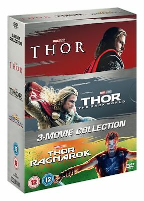 Thor: 3 movie Collection (DVD 3 DISC BOX SET, 2017) *NEW/SEALED* FREE P&P