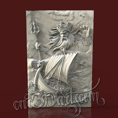 3D Model STL for CNC Router Artcam Aspire Nierd Hero Demigod Panel Cut3D Vcarve