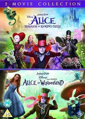 Alice in Wonderland/Alice Through the Looking Glass (DVD 2 DISC BOX SET) *NEW*