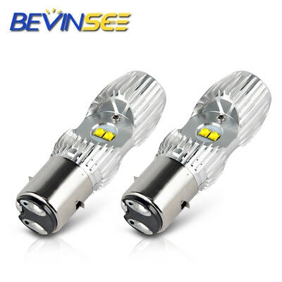 Bevinsee BA20D H6 LED Motorcycle Headlight Bulb For KTM 125 250 300 380 450 690