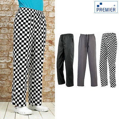 Premier Essential Chef's Trouser (PR553) - Kitchen Catering Workwear Pants