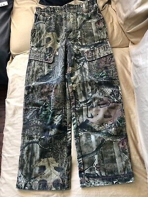 95f64b6977cc4 Youth L Redhead silent -hide Realtree Xtra camo pants with pockets size 26  x 26