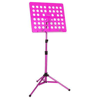Portable Metal Folding Sheet Music Stand Holder Tripod Base Foldable+CASE BAG