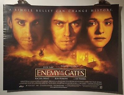 Enemy At The Gate Original Cinema Filmposter Jude Law Rachel Weisz Ed Harris