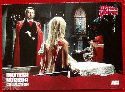 BRITISH HORROR COLLECTION - Lust for a Vampire - ARISE - Card #71