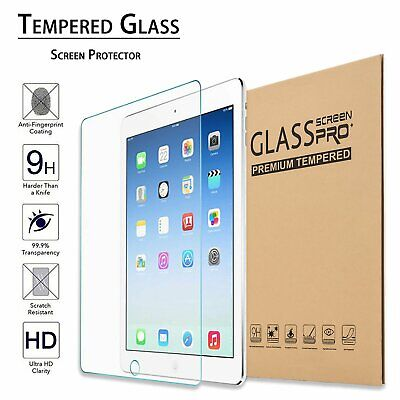 Premium Tempered Glass Screen Protector for Apple iPad 2 3 4 Air Mini Pro 2017