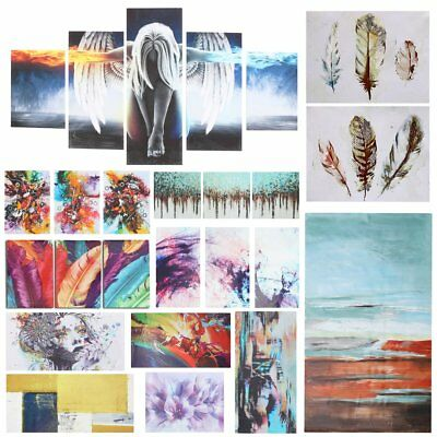 Modern Abstract Canvas Print Paintings Home Wall Picture Decor Framed Unframed