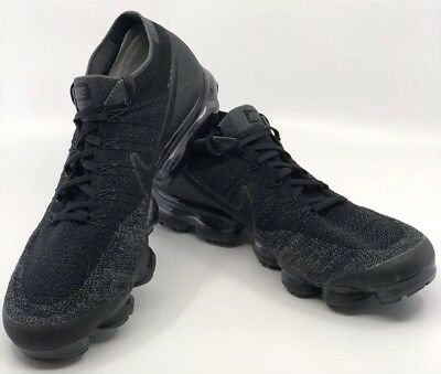 NIKE AIR VAPORMAX FLYKNIT OREO/BLACK SIZE 13 Nice Must See