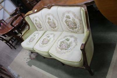 A Gorgeous French Tapestry Three Seater Settee