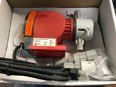 PROMINENT FLUID CONTROLS CNPB1002PPE2M0D010 Pump Dosing - BRAND NEW - 3 Avail.!