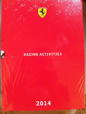 Racing Activities Ferrari 2014 - Annuario/Yearbook - F1