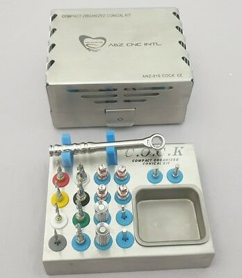 Dental Implant Conical External Irrigation Drills Kit / Conical Drills Kit F