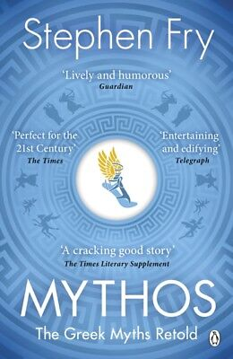 Mythos : The Greek Myths Retold by Stephen Fry (Paperback Book) *NEW* FREE P&P